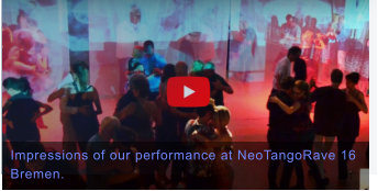 Impressions of our performance at NeoTangoRave 16 Bremen.